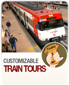 Customizable Train Tours