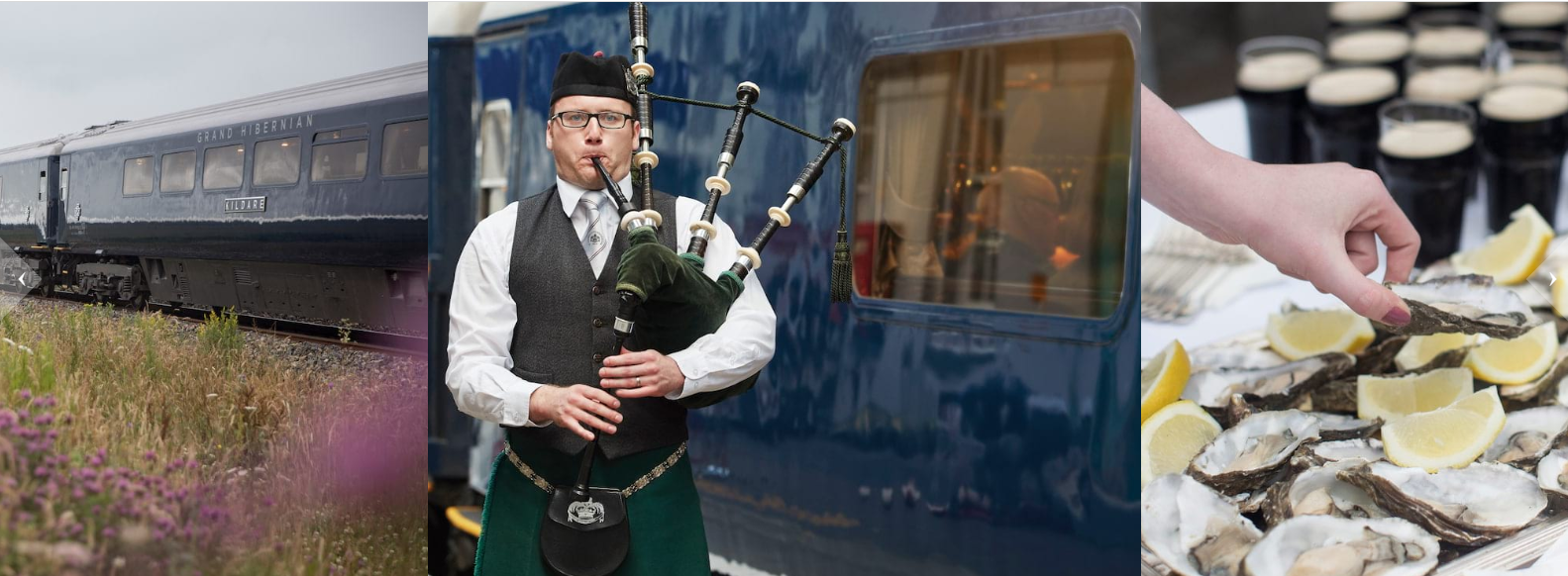 Visit Ireland - on board the Grand Hibernian Luxury Train