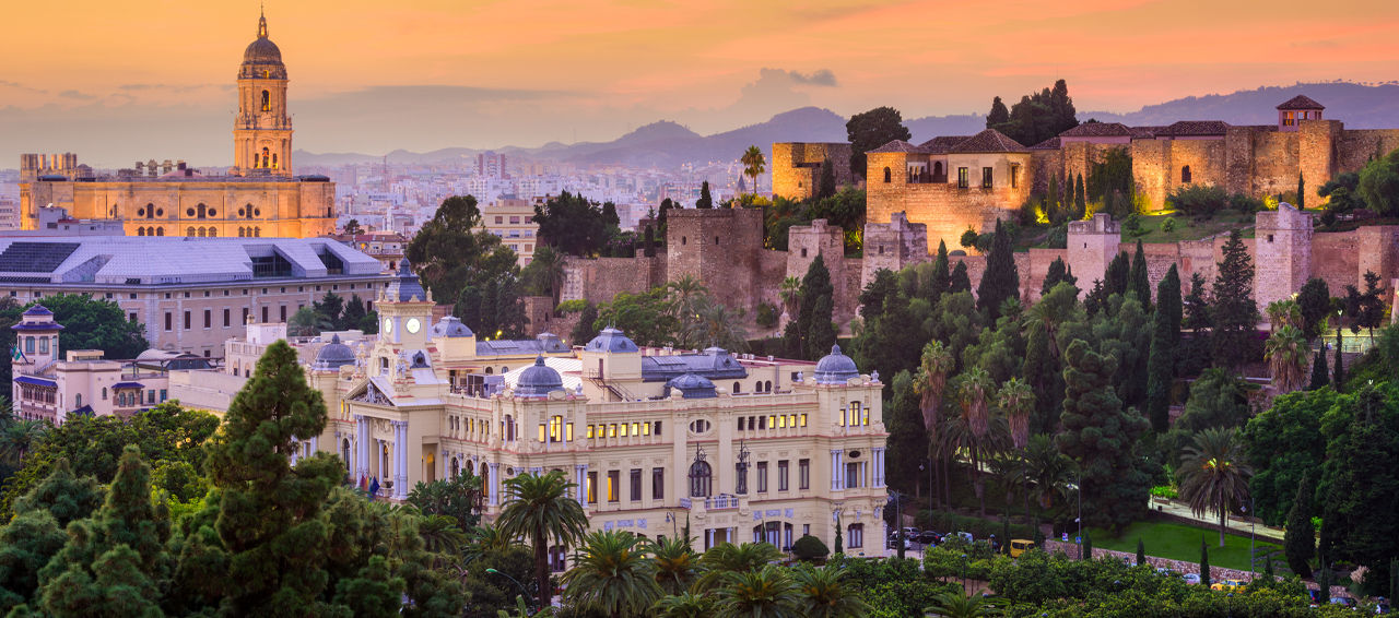 Enjoy two nights in Malaga, Spain