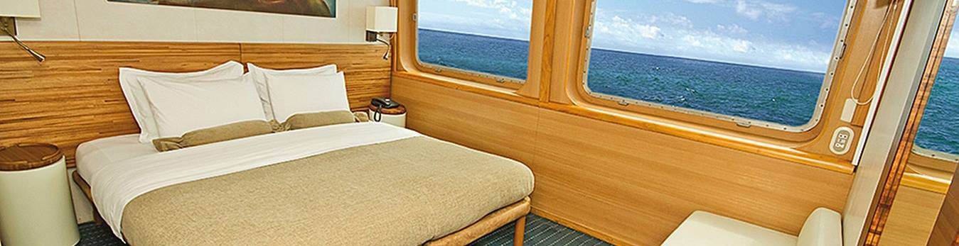 Excellent accommodations on board the boat