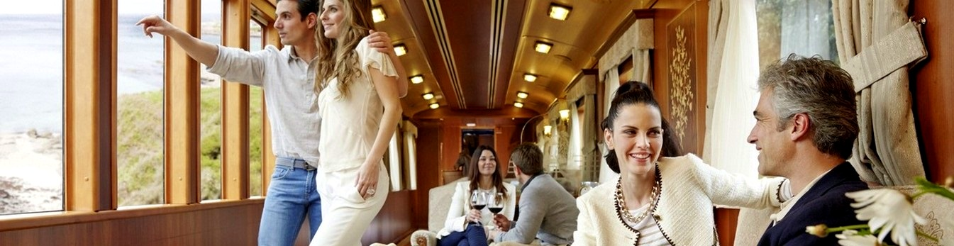 The most luxurious train of Europe: El Transcantabrico Gran Lujo