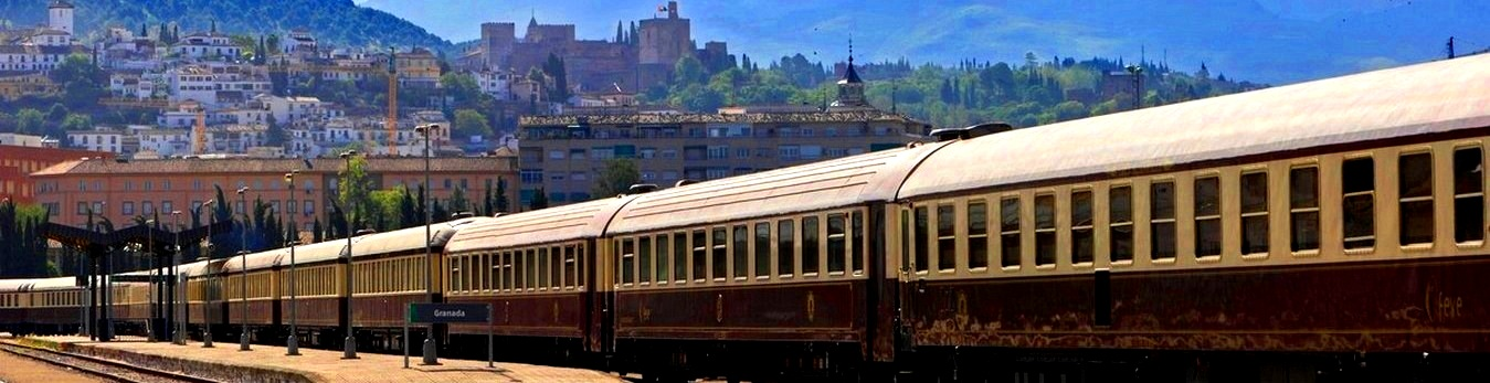 Take a luxury train through Andalusia, Spain