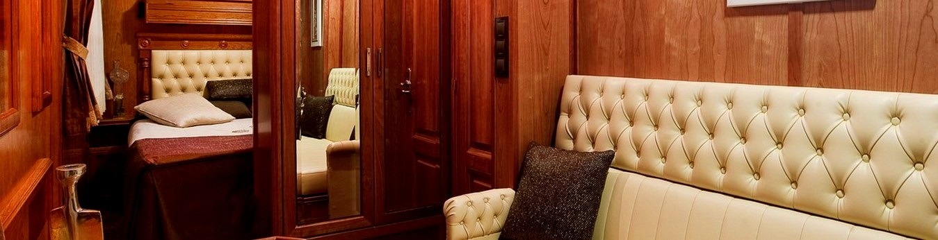 An all suite train with only 14 rooms onboard, providing an intimate experience