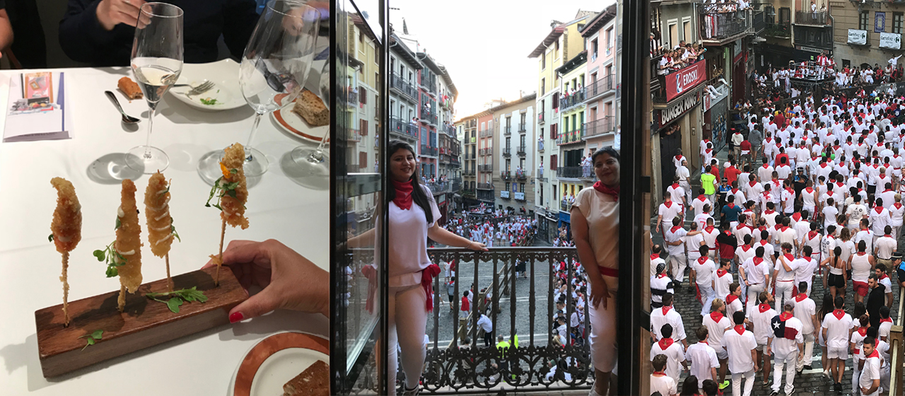 Enjoy this tour with San Fermin Running of the Bulls Festival from special VIP balconies on this unique experience