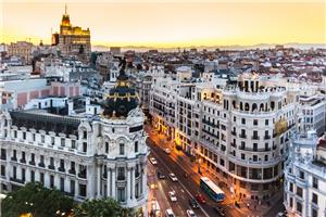 Routes of Spain : Madrid to Seville, Malaga and Barcelona