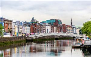 Dublin's the Ha'penny Bridge