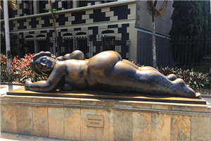 One of Botero's Sculptures