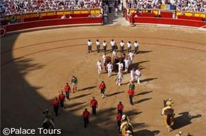 San Fermin Running of the Bulls luxury experience by Renfe Rail (Barcelona-Pamplona-Madrid)