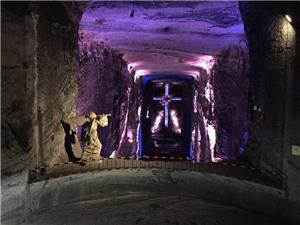 Interior of Salt Cathedral, Zipaquira