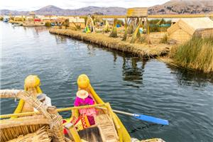 Lake Titicaca: Floating Reed Islands