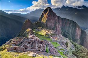 Admire the view of Machu Picchu