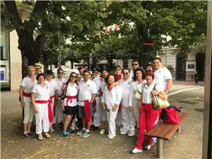 Running of the Bulls festival in Pamplona, Spain Tour of San Fermin