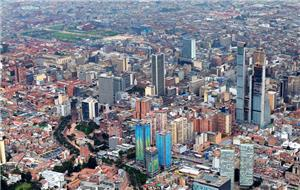 Panoramic view of Bogota