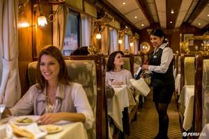The Hiram Bingham luxury train