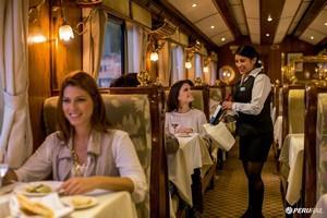The Hiram Bingham luxury train