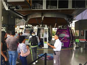 Metrocable of Medellin