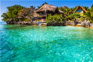 Soak up the sun at Rosario Islands