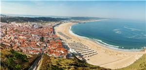 Coastal city of Nazare