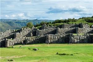 Ruins Outside of Cusco: Sacsayhuaman