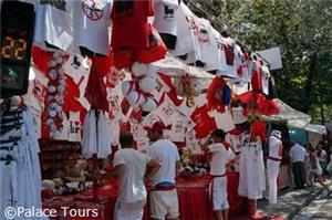 The town of Pamplona comes alive during San Fermin