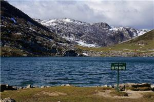 The lake in Picos de Europa