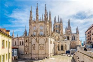 Gothic Cathedral at Burgos