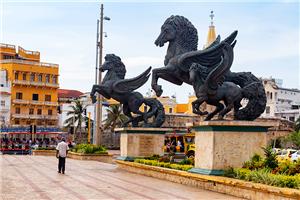 Pegasus Statues