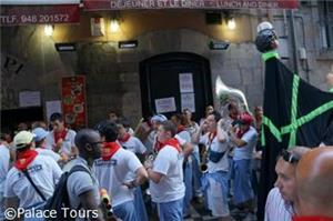 Experience the festivities of San Fermin in Pamplona