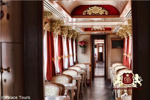 Interior of Tren Crucero