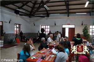 Sustainable Toursim: Delicious lunch served by local community