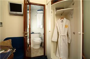 Private bathroom in Gold Class