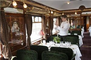 Dine in One of the Three Restaurant Cars