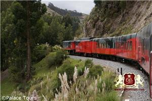 Tren Crucero in Ecuador on Devil's Nose