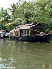 Your Kerala tour continues on a house boat