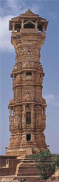 View the gorgeous carvings in the stone at Chittorgarh Fort