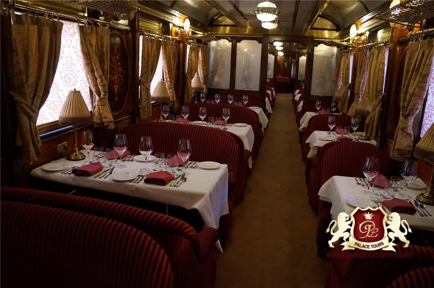 Al Andalus Train Dining Car