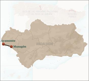 Costa De La Luz Spain Map.Route Of Costa De La Luz 3 Nights Route Of Paradors A 3 Nights