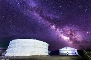 Sleep in the Gers of Mongolia
