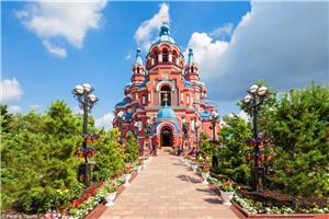 Kazan church of Irkutsk