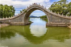 Moon Gate Bridge, Summer Palace of Beijing