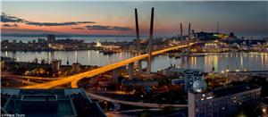 A picturesque view of Vladivostok
