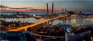 A picturesque view of Vladivostok