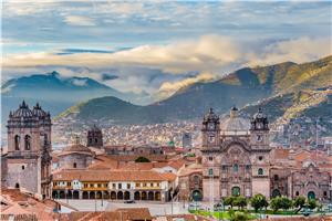 Plaza De Armas in Cusco City