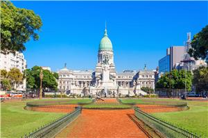 Plaza Del Congreso in Buenos Aires