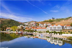 Pinhão with a view of the Douro River