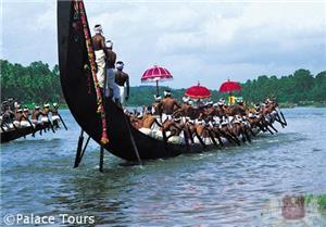 Snake boat in Kerala