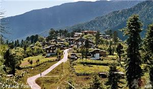 The picturesque Phobjikha Valley