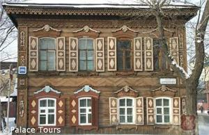 Wooden architecture of Irkutsk