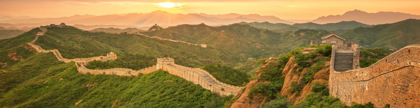Meander along Great Wall of China