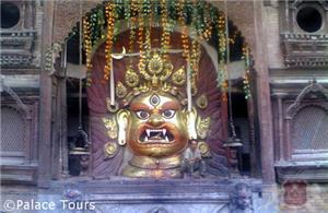 Swet Bhairadya of Kathmandu Durbar Square